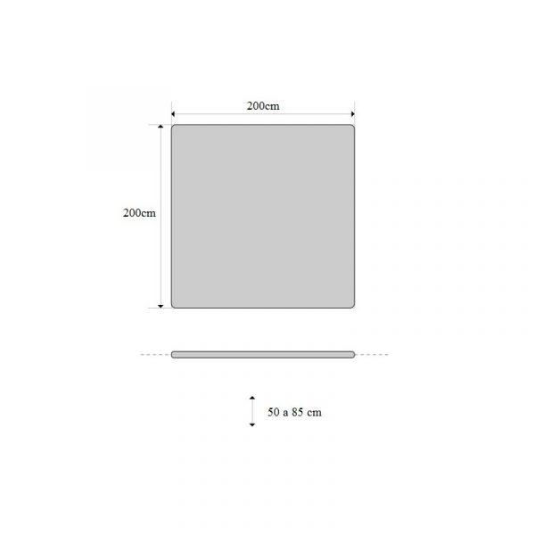 Schaarbanken   Electrische Bobath Behandeltafel CE-BOBATHx2 TJ 200-200